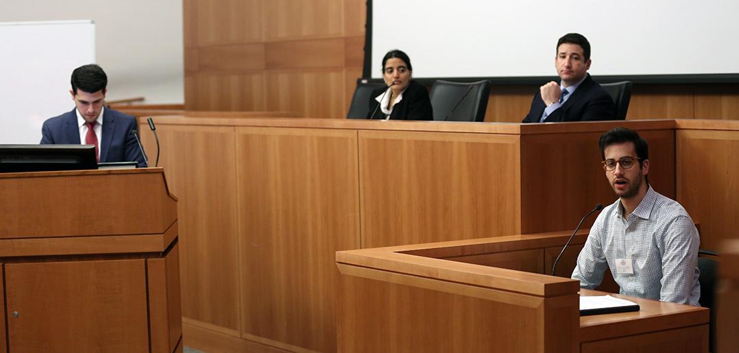 Elsőfokú bírósági tárgyalás