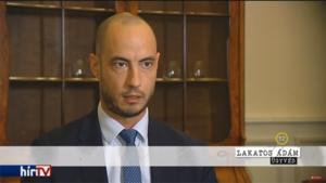 Dr. Lakatos Ádám a HírTV-ben nyilatkozott